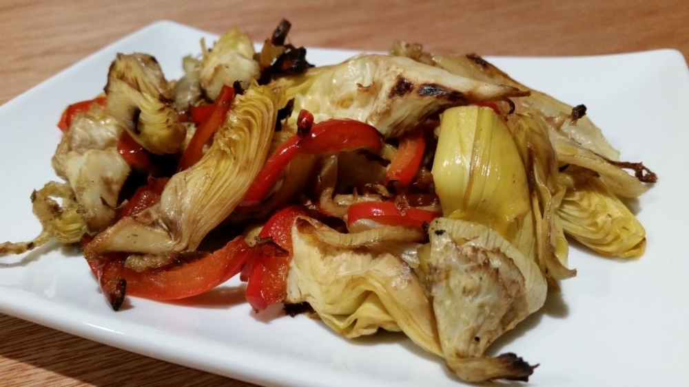 artichoke-hearts-roasted