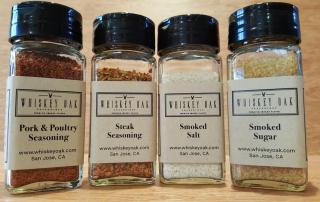 All 4 Shaker Jars of Smoked Spice